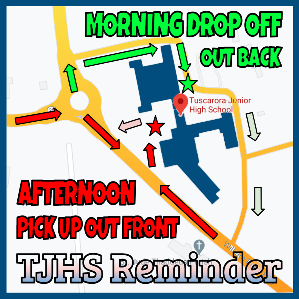 AM and PM Drop-off and Pick-up Locations