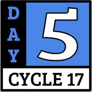 Cycle 17, Day 5