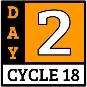 Cycle 18, Day 2