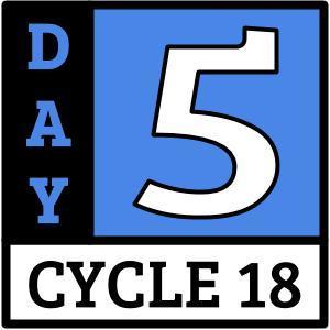 Cycle 18, Day 5