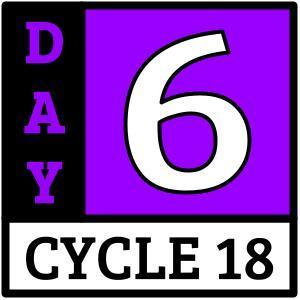 Cycle 18, Day 6