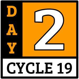 Cycle 19, Day 2